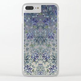 """Field of Lavender"" Clear iPhone Case"