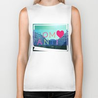 romantic Biker Tanks featuring ROMANTIC by famenxt
