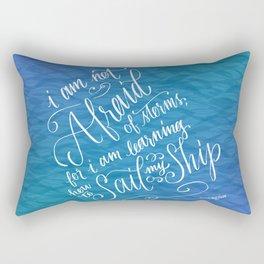 Sail My Ship Rectangular Pillow