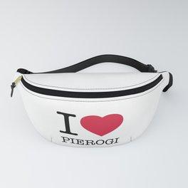 I LOVE PIEROGI Fanny Pack