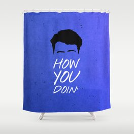 Friends 20th - Joey How You Doin' Shower Curtain