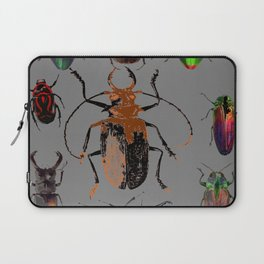 NATURE LOVERS BEETLE BUG COLLECTION ART Laptop Sleeve