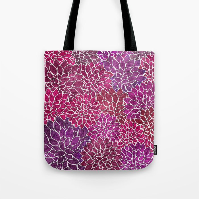 Floral Abstract 18 Tote Bag