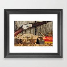 Winchester Model 53 Framed Art Print