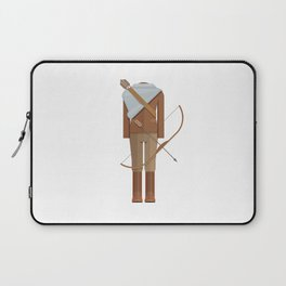 District Fighting Sci-Fi Film Costume Minimal Sticker Laptop Sleeve