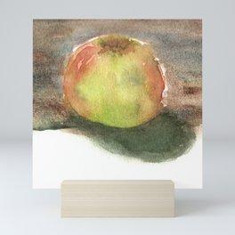 Watercolor Sketchbook: Honeycrisp Apple no.2 Mini Art Print