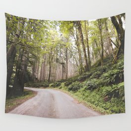 The Road to Olympia Wall Tapestry