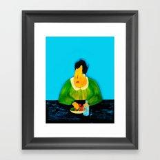 light diet Framed Art Print
