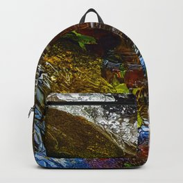 BiPolar Stream - Flowing River Backpack