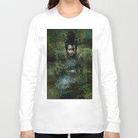 chinese Long Sleeve T-shirts featuring Chinese shade by Ganech joe