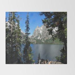 Jenny Lake Serenity Throw Blanket