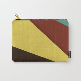 Retro Earth Tones Carry-All Pouch