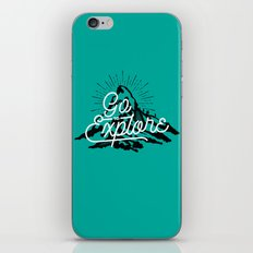 Go To Explore iPhone & iPod Skin