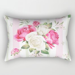 Belle époque flower power Rectangular Pillow