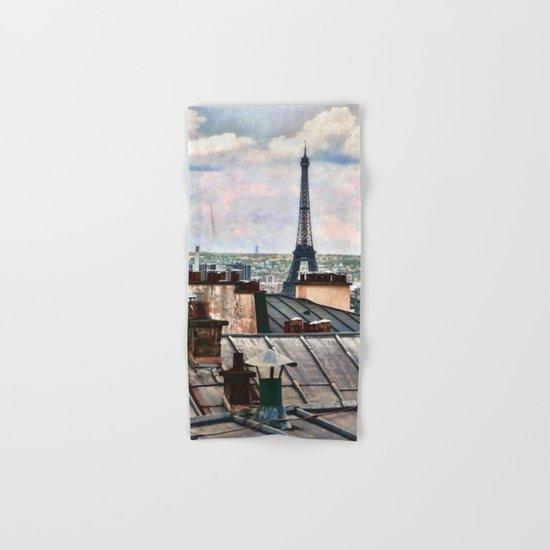 Montmartre Rooftop Hand & Bath Towel