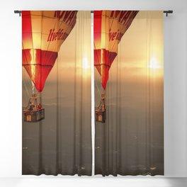 Adrift in the Mist at Sunrise Blackout Curtain