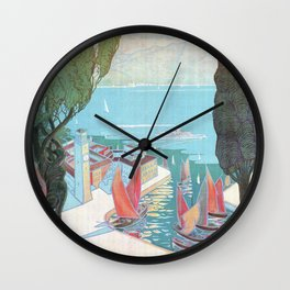 1920 Riva Del Garda Wall Clock