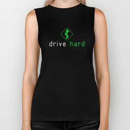 Drive Hard v5 HQvector Biker Tank