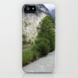 Switzerland Lauterbrunnen iPhone Case