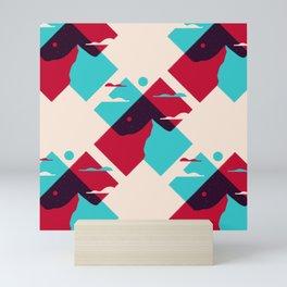 Pencil Scapes 15 Pattern Mini Art Print
