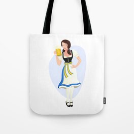 Oktoberfest Girl Tote Bag