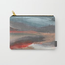 Serenity [2]: an acrylic piece in both warm and cool colors by Alyssa Hamilton Art Carry-All Pouch