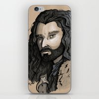 thorin iPhone & iPod Skins featuring Thorin by Katy-L-Wood