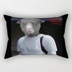 Laugh it up fuzzball Rectangular Pillow