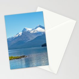 Morning at Lake Maligne Stationery Cards