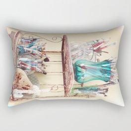 Kathy's Paintbrushes Rectangular Pillow