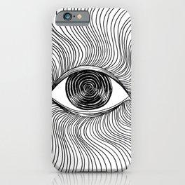 Hypnotize - Eye Drawing iPhone Case