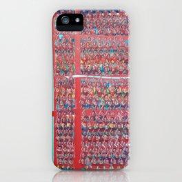 Gran hinchada roja. iPhone Case