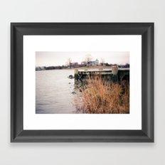 Here on the Coast Framed Art Print