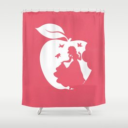 Snow White art film inspired Shower Curtain