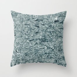 Abstract 207 Throw Pillow