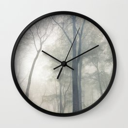 Cathedral of Trees Wall Clock