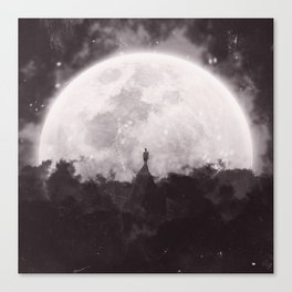 The Moon and I Canvas Print