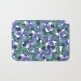 PRESSED FLOWERS Bath Mat