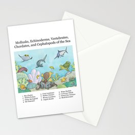 Go Fish! Stationery Cards