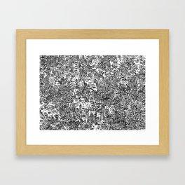 Cell Art Framed Art Print