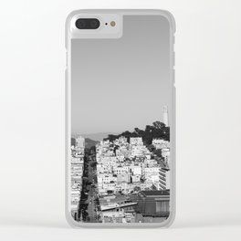 San Francisco XVII Clear iPhone Case