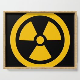 Yellow Radioactive Serving Tray