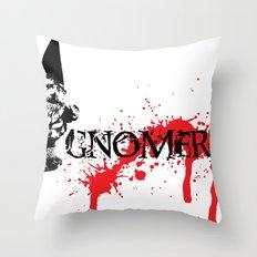 Gnomercy Throw Pillow