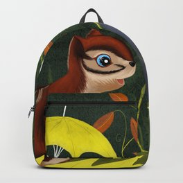 Chipmunk's Amazing Rainy Day Adventure Backpack