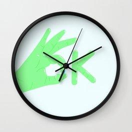 It's alright! Wall Clock