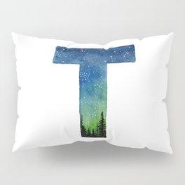 Galaxy Alphabet Series: T Pillow Sham