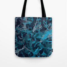 Blue structure Tote Bag