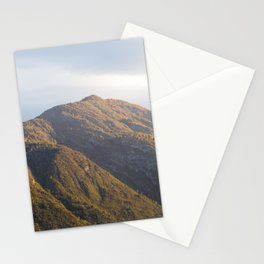 Lake Como Hills at Sunset Stationery Cards