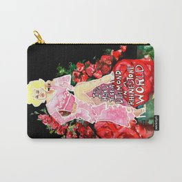 Dolly Parton Diamond Carry-All Pouch