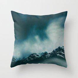 wild peaks Throw Pillow